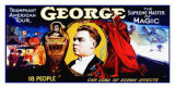 George, el maestro supremo Lámina giclée