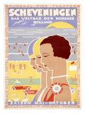Scheveningen Giclee Print by Louis Christian Kalff