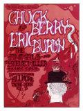Chuck Berry Eric Burdon Giclée-tryk