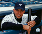 Alex Rodriguez - Dugout Portrait ©Photofile Photo