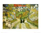Weg und Treppe in Auvers Kunst von Vincent van Gogh