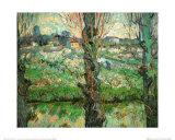 Blick auf Arles Poster von Vincent van Gogh