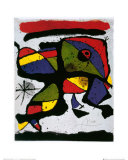 Sammensetning Poster av Joan Miró
