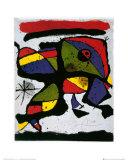 Composición Lámina por Joan Miró