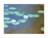 Water Lilies, c.1898 Print by Claude Monet