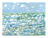 Mare Agitato Posters by Claude Monet
