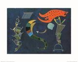 Con la flecha, 1943 Póster por Wassily Kandinsky
