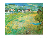 Sunny Meadow in Arles, c.1890 Print by Vincent van Gogh