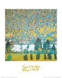 Berghang in Unterach Kunstdrucke von Gustav Klimt