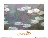 Flor de Lótus Posters por Claude Monet