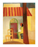 Turkish Café Posters by Auguste Macke