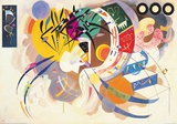 Dominante Kurve Kunstdrucke von Wassily Kandinsky