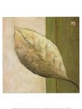 Leaf Impression, Olive Poster by Ursula Salemink-Roos