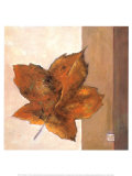 Leaf Impression, Rust Prints by Ursula Salemink-Roos