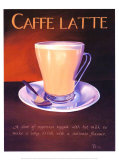 Urban Caffe Latte Print by Paul Kenton