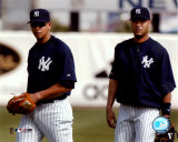 Alex Rodriguez and Derek Jeter - 2004 Spring Training &#169;Photofile Photographie