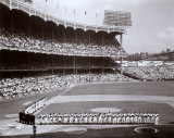 Yankee Stadium Left Field - 1955 World Series Opening Game &#169;Photofile Photographie