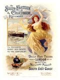 South Eastern and Chatham Railway Giclee Print