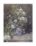 Florero primaveral, 1866 Pósters por Pierre-Auguste Renoir
