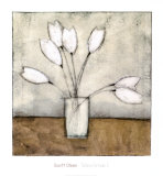 Tulipa Group I Print by Charlene Winter Olson