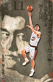 Houston Rockets Yao Ming Sports Poster Print Prints