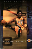 Los Angeles Lakers (Kobe Bryant Dunking) Sports Poster Print Posters