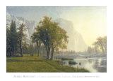 El Capitan, Yosemite Valley, California, 1875 Posters af Albert Bierstadt