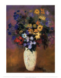 Vase of Flowers, 1914 Prints by Odilon Redon