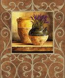 Vases et lavende Affiches par Andres Gonzales
