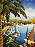 Cote d'Azur I Prints by Thomas Young
