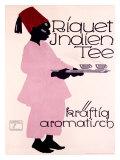 Riquet Indien Tee Giclée-Druck von Ludwig Hohlwein