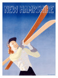 New Hampshire Giclee Print by Hechenberger