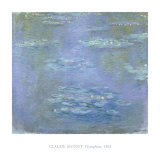 Nympheas, 1903 Print by Claude Monet