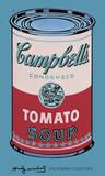 Lata de sopa Campbell, 1965, rosa y rojo Pósters por Andy Warhol