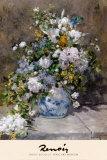 Spring Bouquet, 1866 Poster von Pierre-Auguste Renoir
