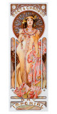 Moet Chandon Dry Imperial Gicledruk van Alphonse Mucha