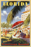 Florida Go by Train Affiches