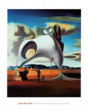 Vestiges atavique après la pluie,1934 Poster par Salvador Dalí