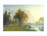El Capitan, Yosemite Valley, California, 1875 Prints by Albert Bierstadt