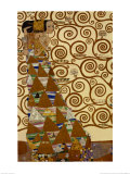 Expectation, Stoclet Frieze, c.1909 Plakater af Gustav Klimt