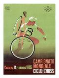Cyclo-Cross Weltmeisterschaft, 1965 Giclée-Druck von  Mancioli
