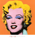 Marilyn Monroe&#160; Orange, 1964 Poster von Andy Warhol