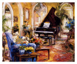 The Music Room Prints by Stephen Shortridge