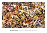 Sammanstrålande Poster av Jackson Pollock