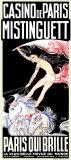 Mistinguett/ Paris qui Brille Affiche par  Zig (Louis Gaudin)