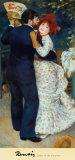 La danse à la campagne Affiches par Pierre-Auguste Renoir