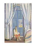 The French Window at Nice, Late 1919 Plakater av Henri Matisse