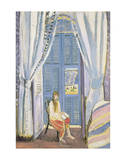 The French Window at Nice, Late 1919 Posters by Henri Matisse