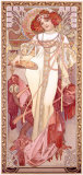 The Seasons, Autumn Giclee Print by Alphonse Mucha