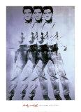 Triple Elvis, 1963 Plakater af Andy Warhol